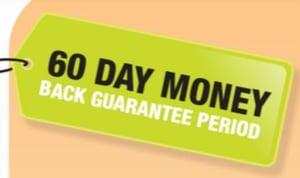 60 day Full Money back