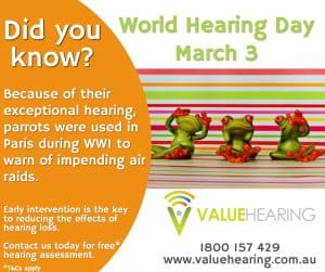 Value Hearing marks World Hearing Day on March 3