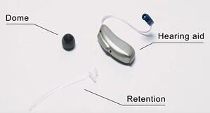 dome hearing aid